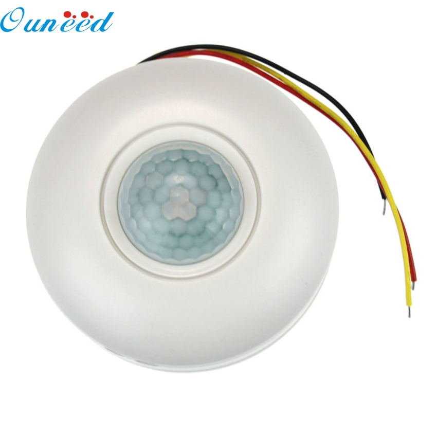 цена на Ouneed DC 12V IR Infrared PIR Motion Automatic Sensor Switch For LED Light Lamp Happy Gifts High Quality PIR Switch