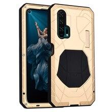 Originele Imatch Dagelijks Waterdichte Case Voor Huawei Honor 20 20 Pro Luxe Metalen Silicone Cover Coque Volledige Bescherming Telefoon Gevallen