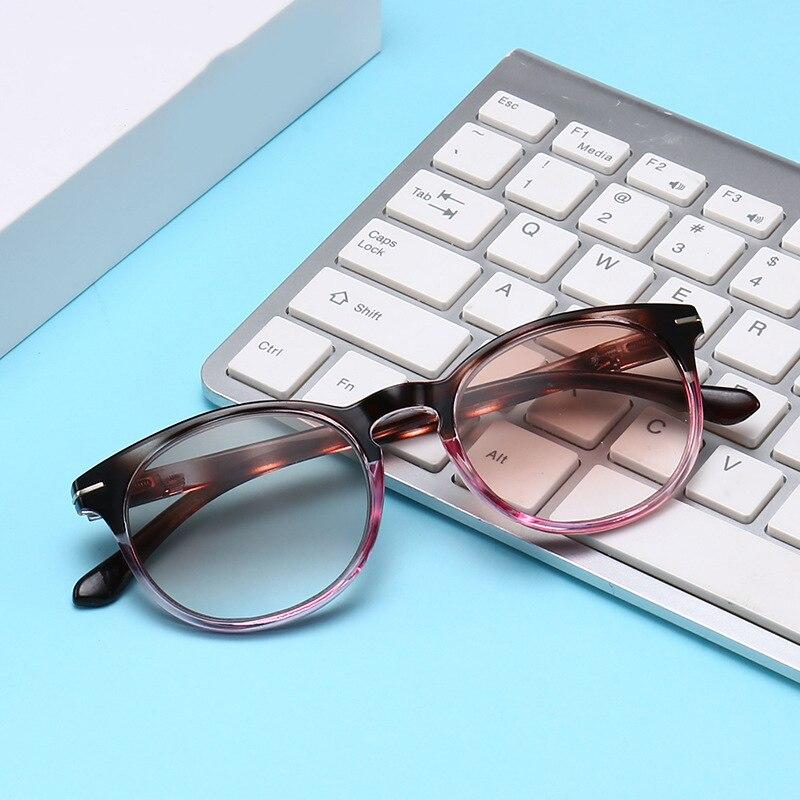 Bekleidung Zubehör Ehrlichkeit Aoron Männer Lesebrille Anblick Gradient Grau Objektiv Anti Uv400 Glas Brille Gafas Lectura Retro 1,0 1,5 2,0 2,5 3,0 3,5 4,0 Lesebrillen