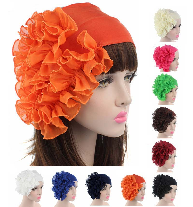 Beautiful Elastic Headband Floal Headbands Chiffon Women Hairbands Dance Headband Cotton Hairband Hair Accessories For Women