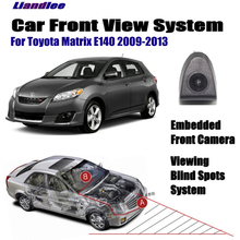 цена на Liandlee For Toyota Matrix E140 2009-2013 2010 2011 2012 Car Front View Camera Cigarette Lighter Switch 4.3 LCD Monitor Display
