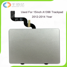 "Original 98% New 100% Working Well A1398 Trackpad for Macbook Retina 15"" A1398 Touchpad with Cable 2012 2013 2014 Year"