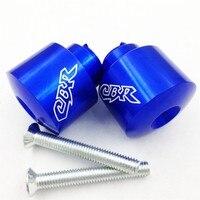 Del mercado de accesorios de motocicleta envío libre partsHand Acoples para CBR 600 900 929 954 1000 1100 RR F4i F4 1986-2012 AZUL