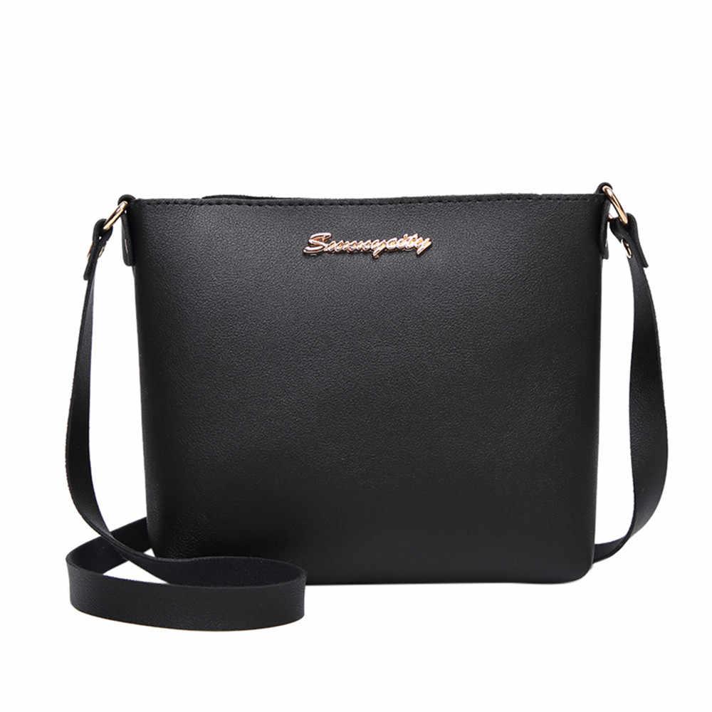 2019 Mode Voor Vrouwen Solid zipper Schoudertas Crossbody Bag Messenger Telefoon Munt Zak Kleine koreaanse Stijl Bolsas Feminina