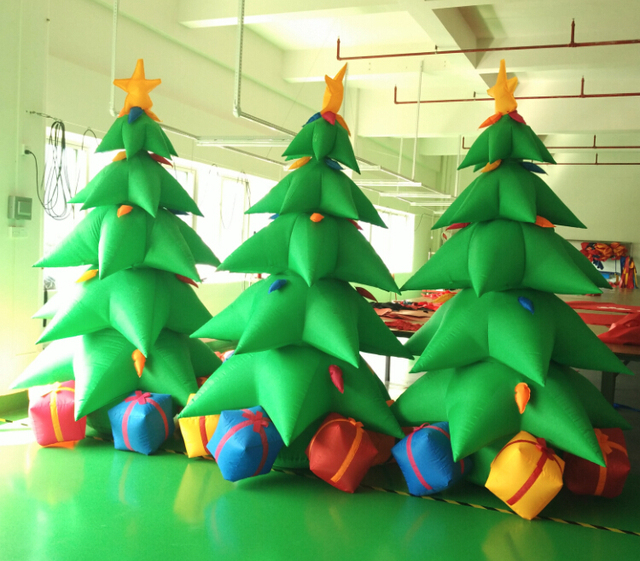 factory sale 3m height inflatable christmas tree cheap christmas tree for party decoration with high - Cheap Inflatable Christmas Decorations