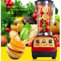 ST 602T Commercial Blender Mixer Mixer 4L 220V 50hz 2800W Food Processor Make Smoothie Soy Milk