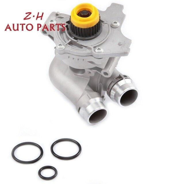 NEW Aluminum Thermostat Housing & Water Pump Assembly 06H 121 026 T For Audi A4 A6 Q5 Q3 VW Passat Golf Jetta 1.8T 2.0T 65480G