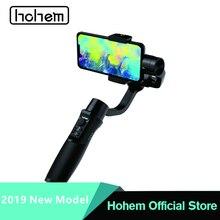 Hohem iSteady Мобильный плюс смартфон карданный 3-осевой Ручной Стабилизатор для iPhone XS XR X 8 плюс 6s для samsung для смартфона