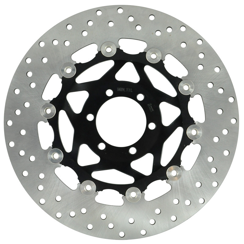 LOPOR Front Brake Disc Rotor For Yamaha TZR250 FZ400 FZR400 FZR600 SR400 XJR400 FZS600 YZF600 FZ750 TDM850 TRX850 FJ1200 keoghs real adelin 260mm floating brake disc high quality for yamaha scooter cygnus modify