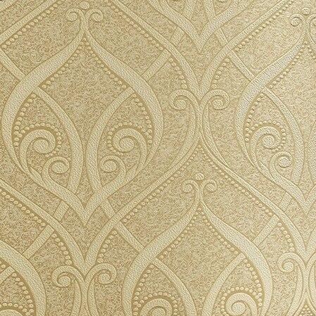 Buy 3d damask wallpaper roll vintage - Papel de pared retro ...