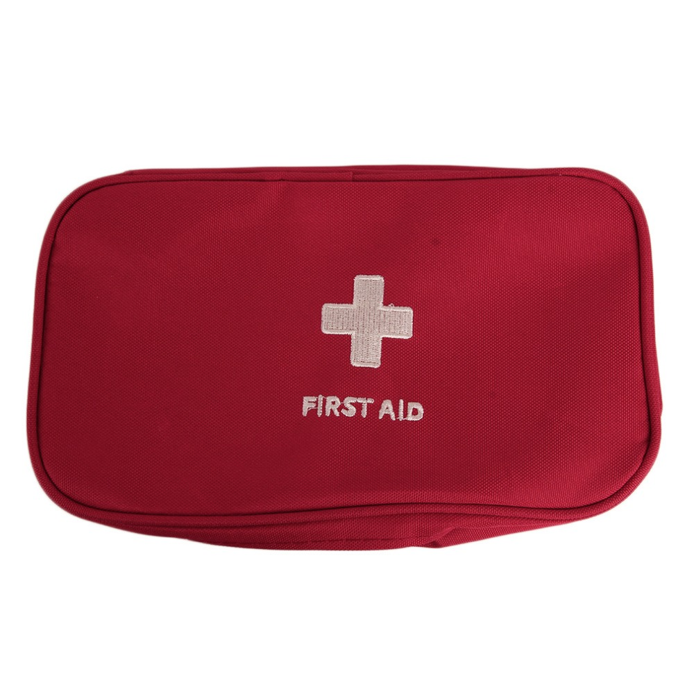 2017 New Emergency survival bag Mini Family First Aid Kit Sport Travel kits Home Medical Bag Outdoor Car First Aid Bag portable military first aid kit empty bag bug out bag water resistant for hiking travel home car emergency treatment ifak