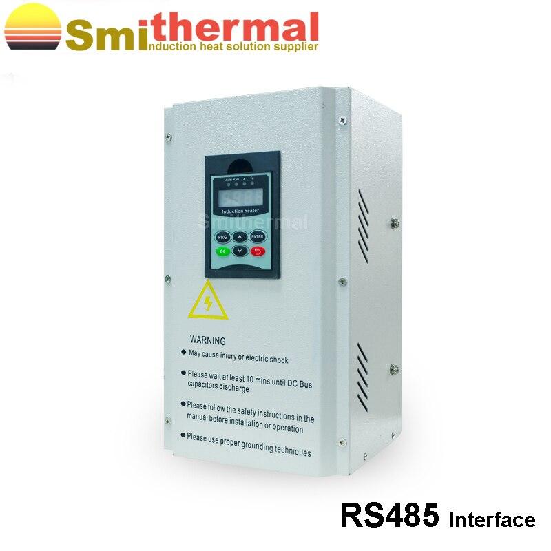 Calentador de inducción electromagnético monofásico 5KW 220 V para extrusor de plástico