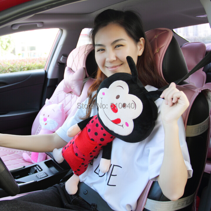 New Car Seat Pets Pillow Cat Seat Belt Cover Child Pig Seat Petsfree New Pillow Pet Seat Belt Cover