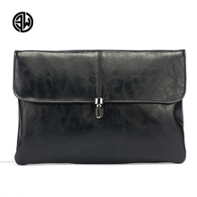 ETONWEAG New Fashion Famous Brand Male Clutch Quality Leather Wallet Holder Men's Day Clutches Male Luxury Leather Men Hand Bag