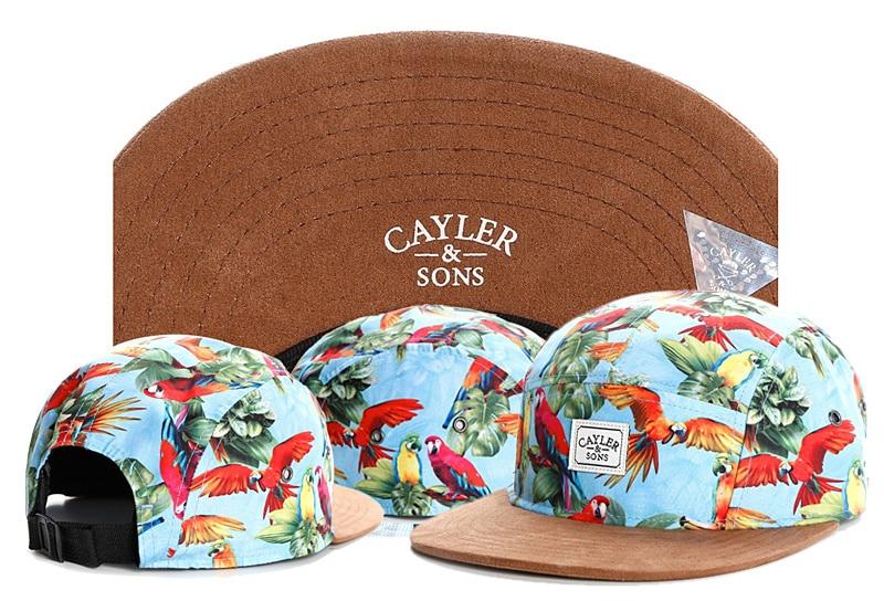 Fashion Brand PARADISE 5 panel cap CAYLER SONS five panel adjustable  baseball cap snapback hats for men women sports hip hop cap 6a7d81c25b25