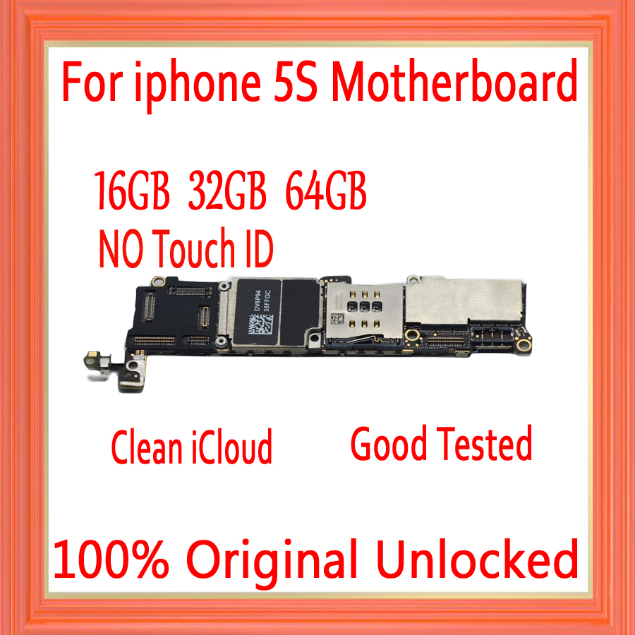 16gb / 32gb / 64gb for iphone 5S Motherboard without Touch ID,100% Original unlocked for iphone 5S Logic boards,Free Shipping16gb / 32gb / 64gb for iphone 5S Motherboard without Touch ID,100% Original unlocked for iphone 5S Logic boards,Free Shipping