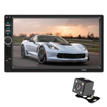 Autoradio GPS Player Bluetooth Handsfree Car Audio Mirror Link Radio 2 Din Steering Wheel Controls 7″inch  Auto Stereo