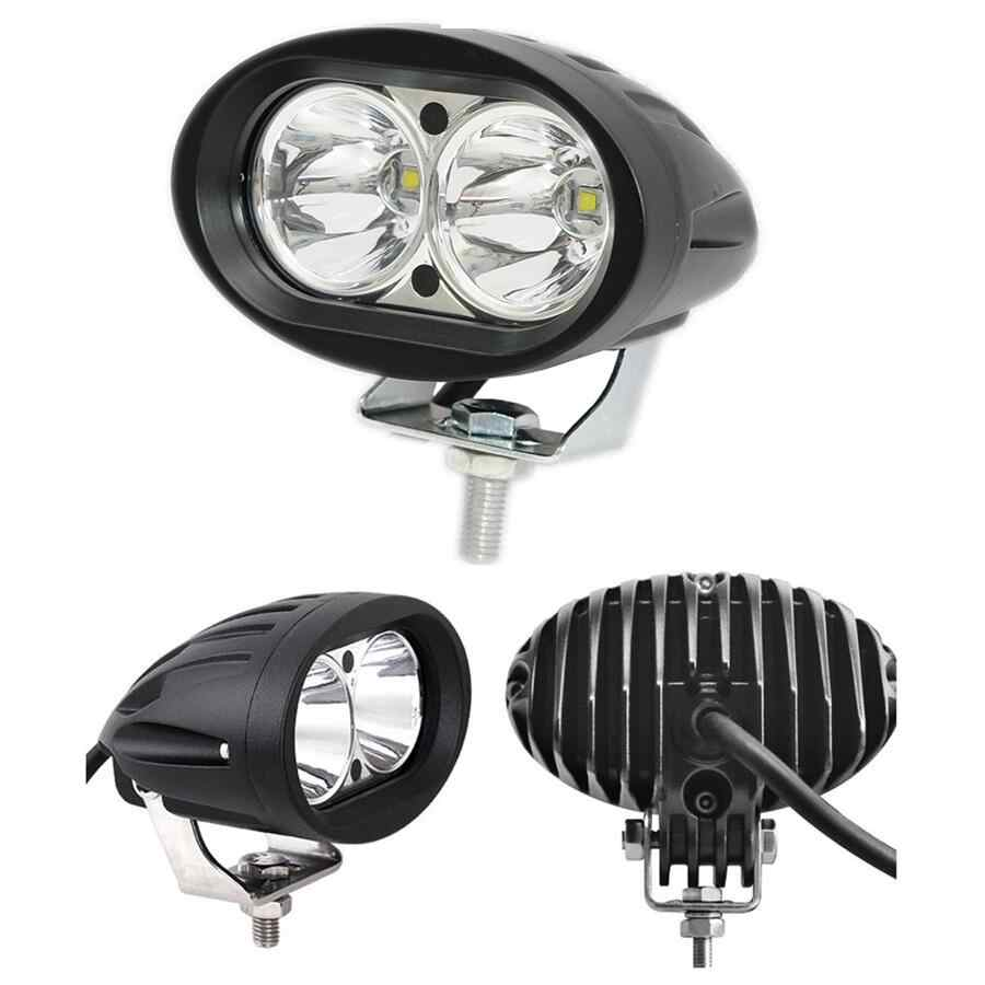 2pcs 20W LED Work Light Car Auto SUV ATV 4WD 4X4 Offroad LED Driving Fog Lamp Motorcycle Truck Headlight spot light
