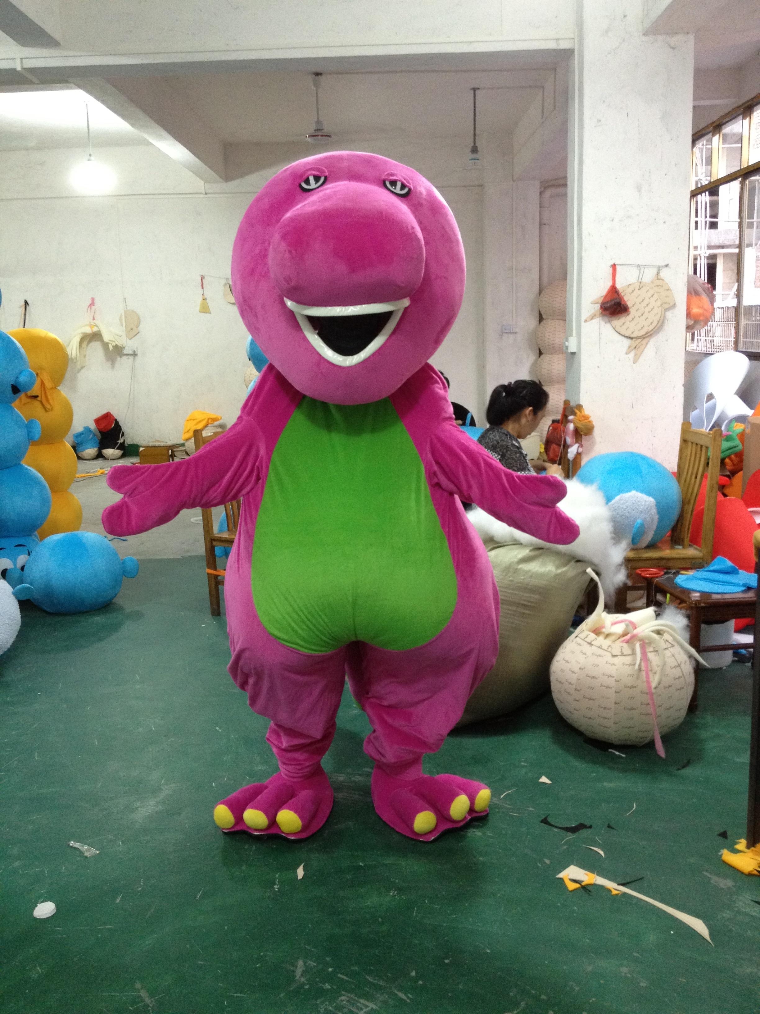 Purple Dinosaurs Barney Baby Bop Bob and BJ Dinosaur Cartoon