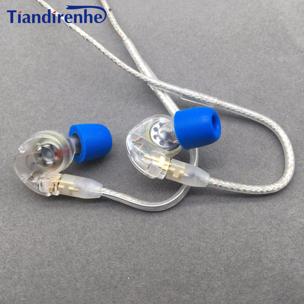 Tiandirenhe TH20 Original MMCX Cable for Shure SE215 SE535 SE846 Earphone Dynamic 10mm Units HIFI Customized Sport Headset