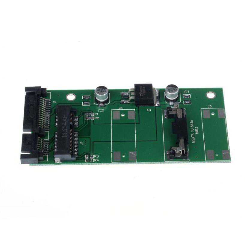 MOSUNX Futural Digital Hot Selling Mini PCI-E mSATA SSD To 1.8 Inch Micro SATA Adapter Converter Card Drop Shipping F35