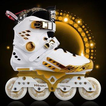 Light Up Skates   Illuminating Inline Skates PU Wheels Full Light Up LED Wheels Roller Skates Universal Men And Women Skates For Skating Rink