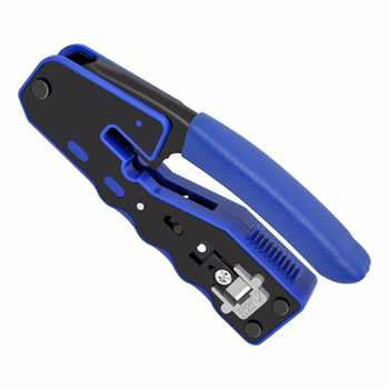 CNCOB 8P8C RJ45 Cable Crimper,Ethernet Perforated Connector Crimping Tools, Multi-Function Network Tools, Cable Clamps