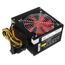 Desktop Power 500W Quiet Power Switching 12V ATX BTC Power Supply SATA 20PIN+4PIN Power Supply Computer Chassis For Intel AMD PC