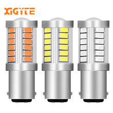 1157 P21/5 W BAY15D Super lumineux 33 SMD 5630 5730 LED auto frein feux antibrouillard 21/5 w voiture diurne feux stop ampoules 12 V(China)