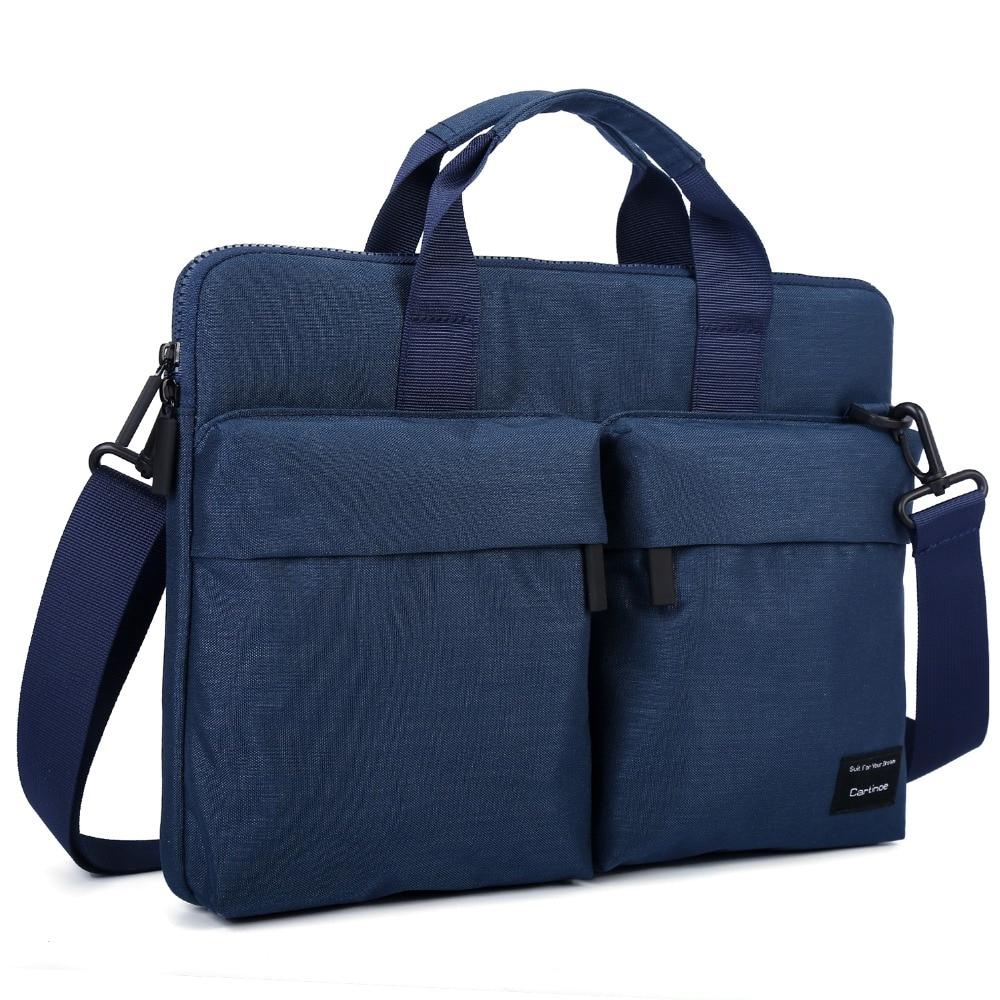 ANTI-RFID 12 13.3 14 15 15.6 inch Laptop Bag Women Men Notebook Bag Shoulder Messenger Waterproof Computer Handbag for Macbook