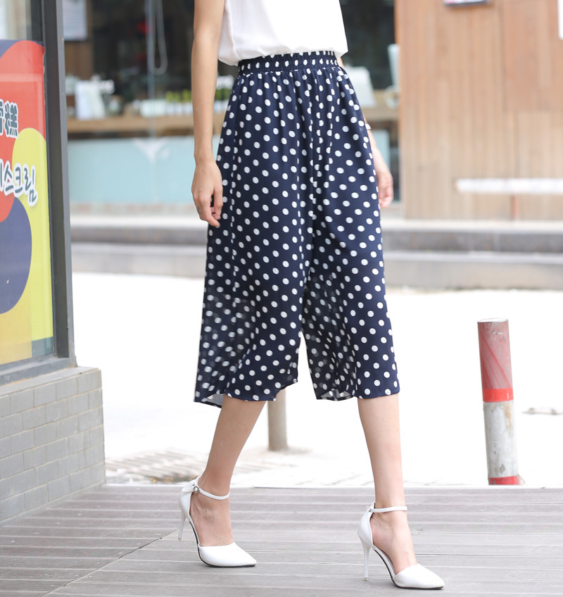 Popular Polka Dot Wide Leg Pants Women-Buy Cheap Polka Dot Wide ...