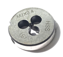 цены Free shipping of 1PCS HSS Metric Die M2 x 0.4 mm Dies Threading Tools Lathe Model Engineer Thread Maker special for SS workpiece