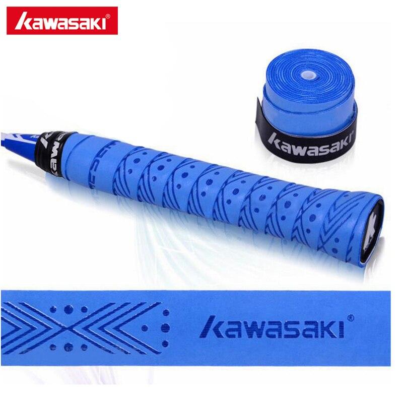 5 шт./лот Kawasaki бренд Sweatbands анти-slip дышащие Теннис овергрипы Бадминтон сцепление Клейкие ленты X5
