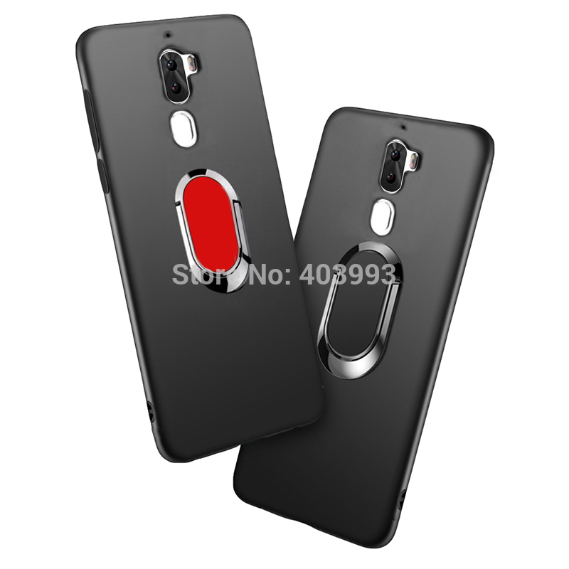 Case For Letv Leeco Cool 1 Cover Finger Ring Magnet Matte Protector For Leeco Coolpad Cool1 Dual R116 C106 c106-7 C106-9(China)