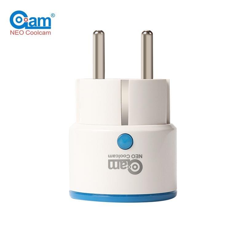 D'origine Coolcam NAS-WR01Z WR01ZE UE Smart Plug Power Socket Domotique Système D'alarme Maison Z Vague Vidéo Fréquence Blanc