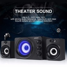 SADA Combination speaker Mini Portable speaker for Laptop computer mobile 3W PC Speakers With Blue Atmosphere Light