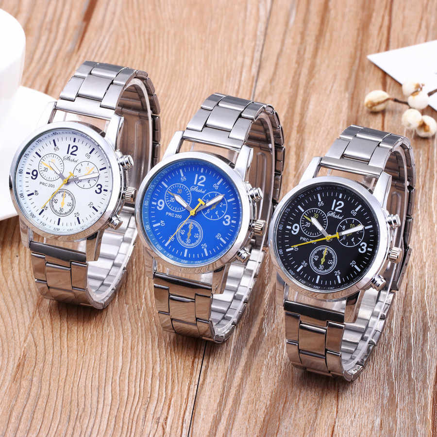 2019 Relogio Masculino Fashion Neutrale Horloges Mannen Quartz Analoog Horloges Stalen Band Klok Business Reloj Hombre Saat Horloge