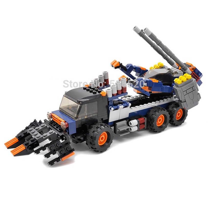 GUDI Space Wars asalto Legoings carro bloques 401 Uds ladrillos conjuntos de bloques de construcción juguetes educativos montados para niños