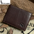Hot sale brand Genuine Leather Wallets men vintage Multifunction  wallet  Men Credit Card Holder coin purse freeshipping