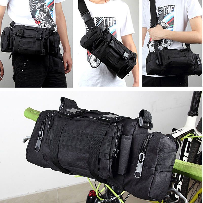 mtb hegyi út kerékpár első táska kerékpározás kerékpár kormánytáska crossbody válltáska deréktáska multi-pocket kerékpár kiegészítők