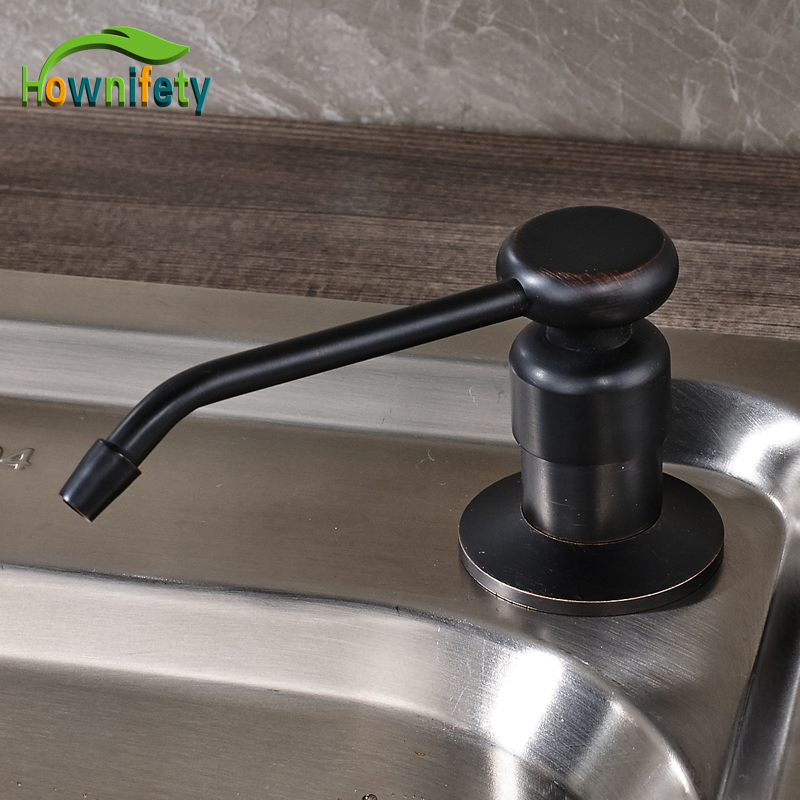 Free Shipping Oil Rubbed Bronze Kitchen Soap Dispenser Liquid Deck Mounted China