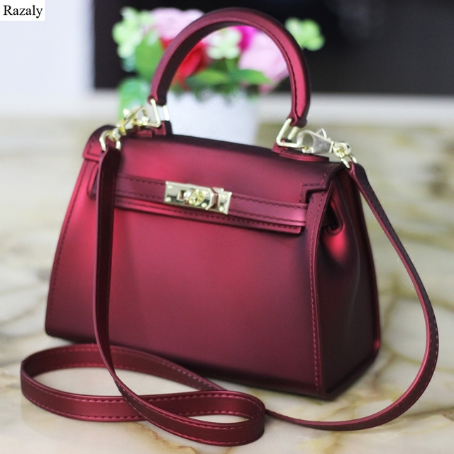women brand hand bag female jelly pvc lady chain no lock bolsa silicone small gold buckle messenger purses and handbags tote bao
