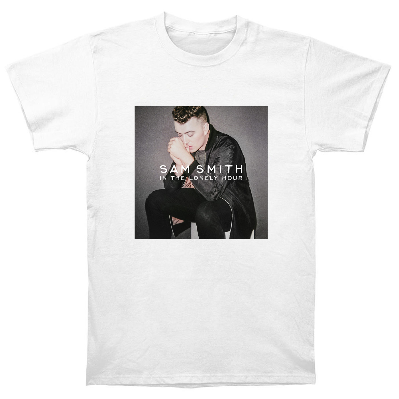 Sam Smith T Shirt Cd In The Lonely Hour Vinyl Poster Drowning Shadows Edition ST1