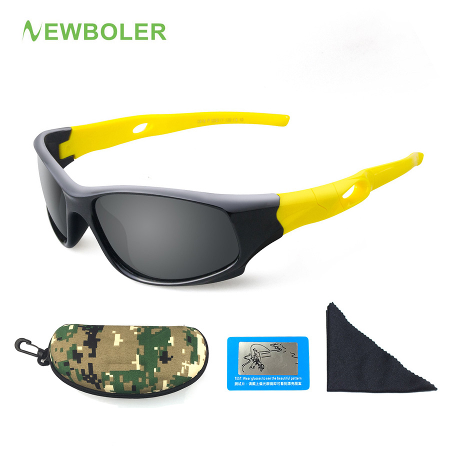 NEWBOLER Cycling-Glasses Goggles Children Eyewear Protection Outdoor Sports Kids Boys