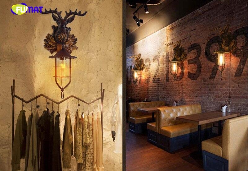 Deer Head Wall Lamp 15