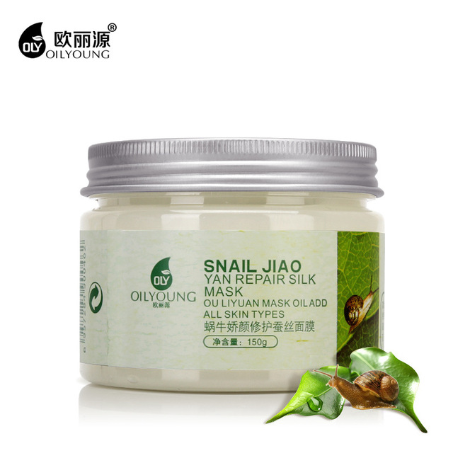 Face Care Moisturizing Snail Facial Mask Acne Treatment Oil-Control Whitening Repairing Anti-Aging Face Masks Beauty Skin Care