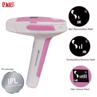 UKLISS Hot Selling Laser IPL Permanent Hair Removal Machine with LCD Body Face Painless Shaving Epilator Kit