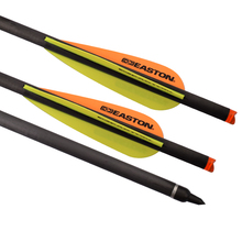 "ELONG 20 ""Carbon Crossbow Bolt med Easton Vane Skruv Field Point Bågskytte Bow Utomhusjakt Skytte Sport Gratis frakt"