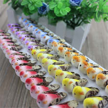 Free Shipping Forest Creative DIY Handmade Accessories Wedding Decoration Hair Ornament Cute Bird Pigeon 48pcs