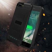 New Portable Kopia Zapasowa Ładowarka Case Dla iPhone 6 6 S 7/7 plus Zewnętrzny Akumulator Skrzynki Pokrywa 3000/4200 mAh Szybkiego Ładowania